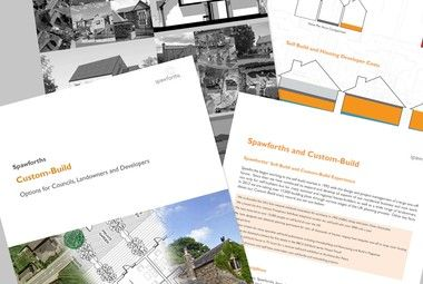 Spawforths instructed as architects for Custom Build pilot schemes in West Yorkshire