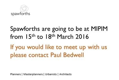 Spawforths at MIPIM 2016