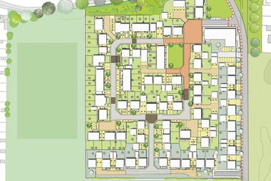 Proposals for 96 houses at former Redcats site approved