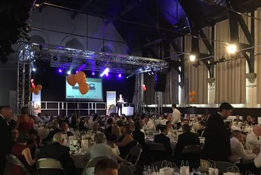 Spawforths sponsor LABC Building Excellence awards 2016 dinner