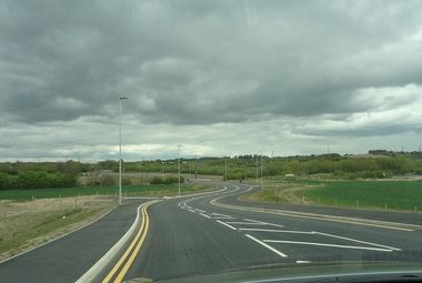 The £33 million Wakefield Eastern Relief Road unveiled!