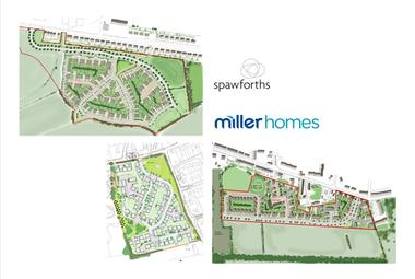 It's a hat-trick for Spawforths and Miller Homes!
