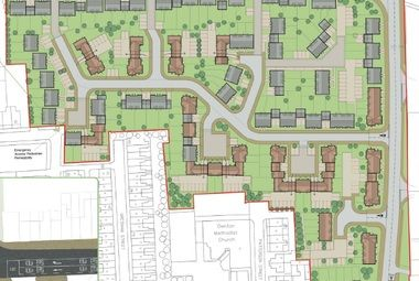 Planning Consent for 150 Homes, Denton