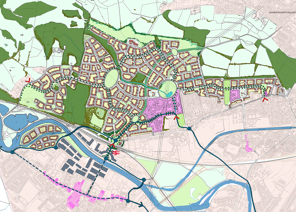 MASTERPLANS FOR REGENERATION PROJECTS