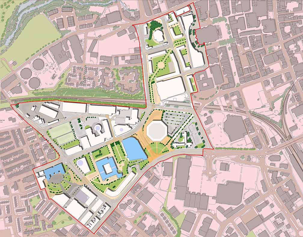 MASTERPLANS FOR TOWN CENTRES