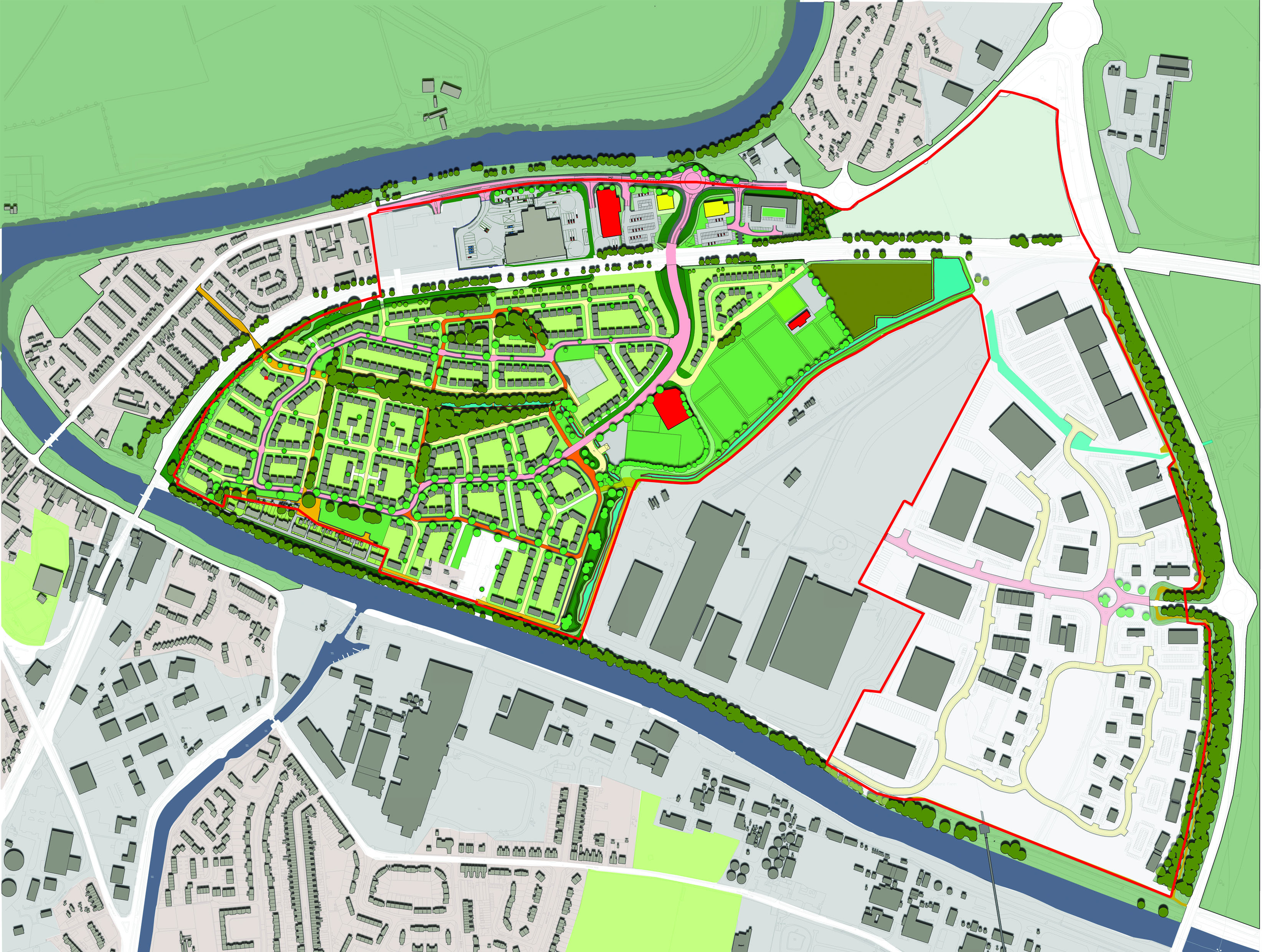 Olympia Park Masterplan Selby